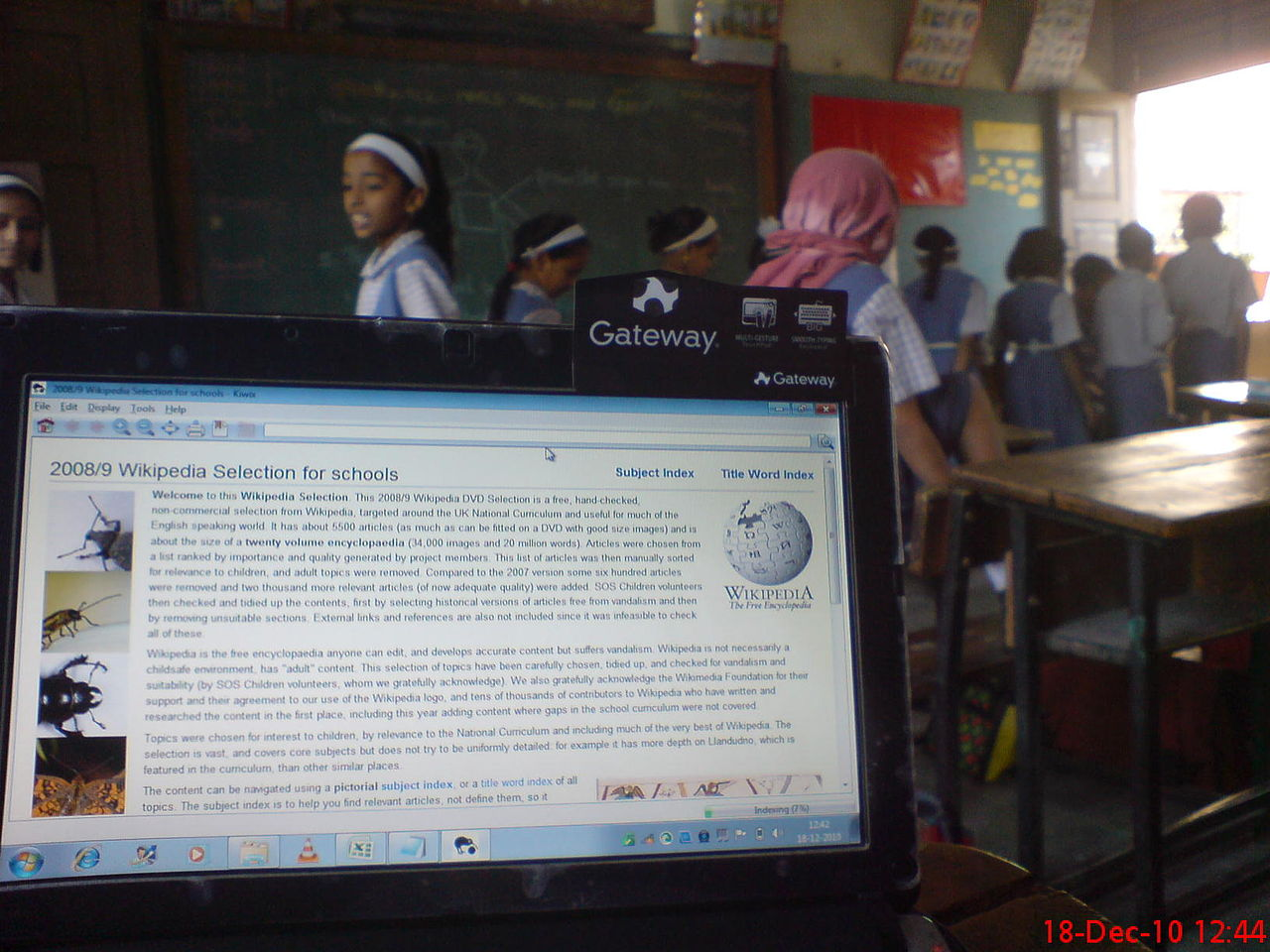File:Wikipedia for Schools netbook shot in classroom.jpg